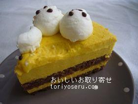 シルクテリアバニラバニラのハロウィンケーキ