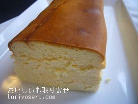 アトリエタタンのチーズケーキ